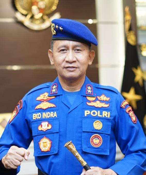 Kapolda Sumatera Selatan - Irjen Pol Prof. Dr. Eko Indra Heri S., M.M